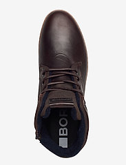 Björn Borg - BAX MID M - hoog sneakers - dark brown - 3