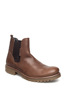 KEVIN CHS - chelsea boots - dark brown