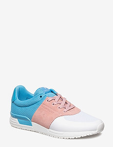 R100 Low Tri W - low top sneakers - white-lt blue