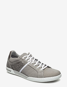 Coltrane Cvs - baskets basses - lt grey-dk grey