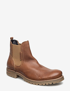 KEVIN CHS - chelsea boots - tan