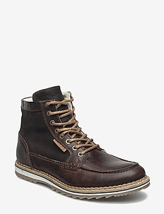 MARTYN GR MID FUR - vinter boots - dark brown