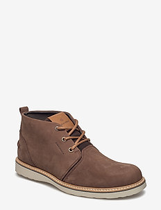 MILKO 02 MID M - desert boots - dark brown