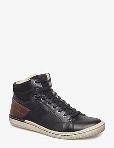 ALVIN MID M - winter boots - black