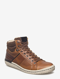 ALVIN MID M - winter boots - tan