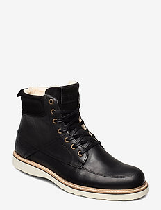 MIO HIGH M - vinter boots - black