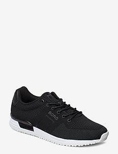 R107 Low Knt M - low tops - black
