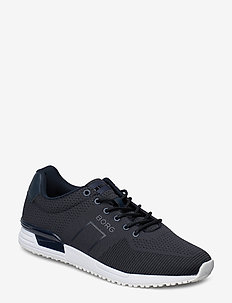 R107 Low Knt M - baskets basses - navy