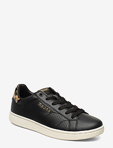 T306 LOW LEO PRF W - lave sneakers - black-brown