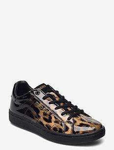 T306 LOW LEO W - lage sneakers - brwn-blk