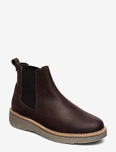 RUGETTA CHS ALC W - chelsea boots - dark brown