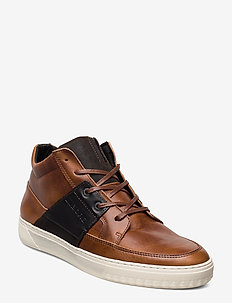 COLLIN MID DMT M - baskets montantes - tan