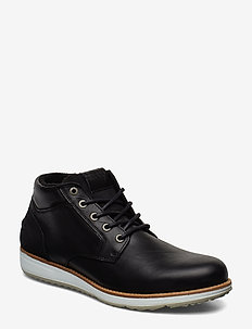 SUNDAL MID M - laced boots - black