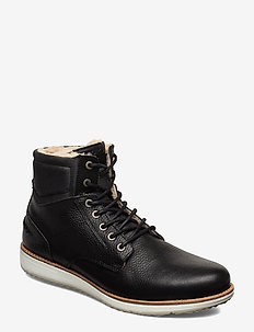 SUNDAL HGH TMB M - winter boots - black