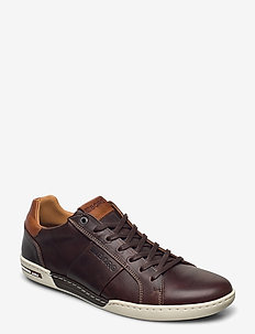 CAY LEA M - lav ankel - dark brown