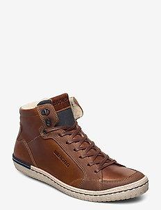ALAN MID FUR M - winter boots - tan