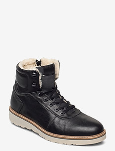 RUNO HGH FUR M - winter boots - black