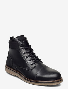 BARLOW HGH M - laced boots - black