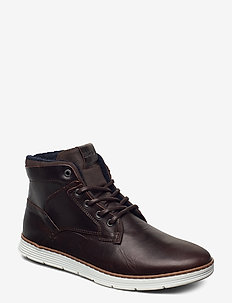 BAX MID M - korkeavartiset tennarit - dark brown