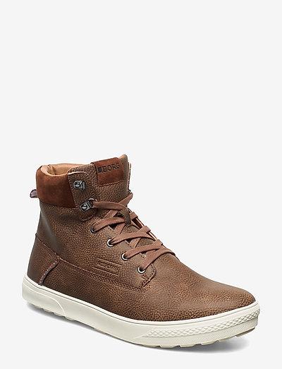 T1400 HGH TMP M - høje sneakers - tan