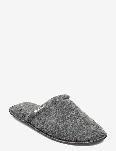 HOMY M - hjemmesko - grey