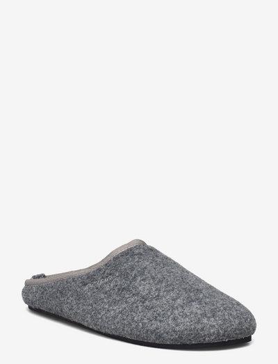 HOWARD FLT M - hjemmesko - light grey