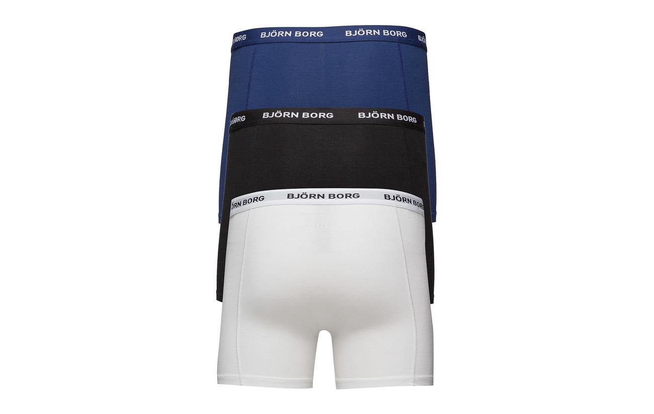 Noos 3p Shorts Borg Depths Solids Björn Blue qSOtncxw
