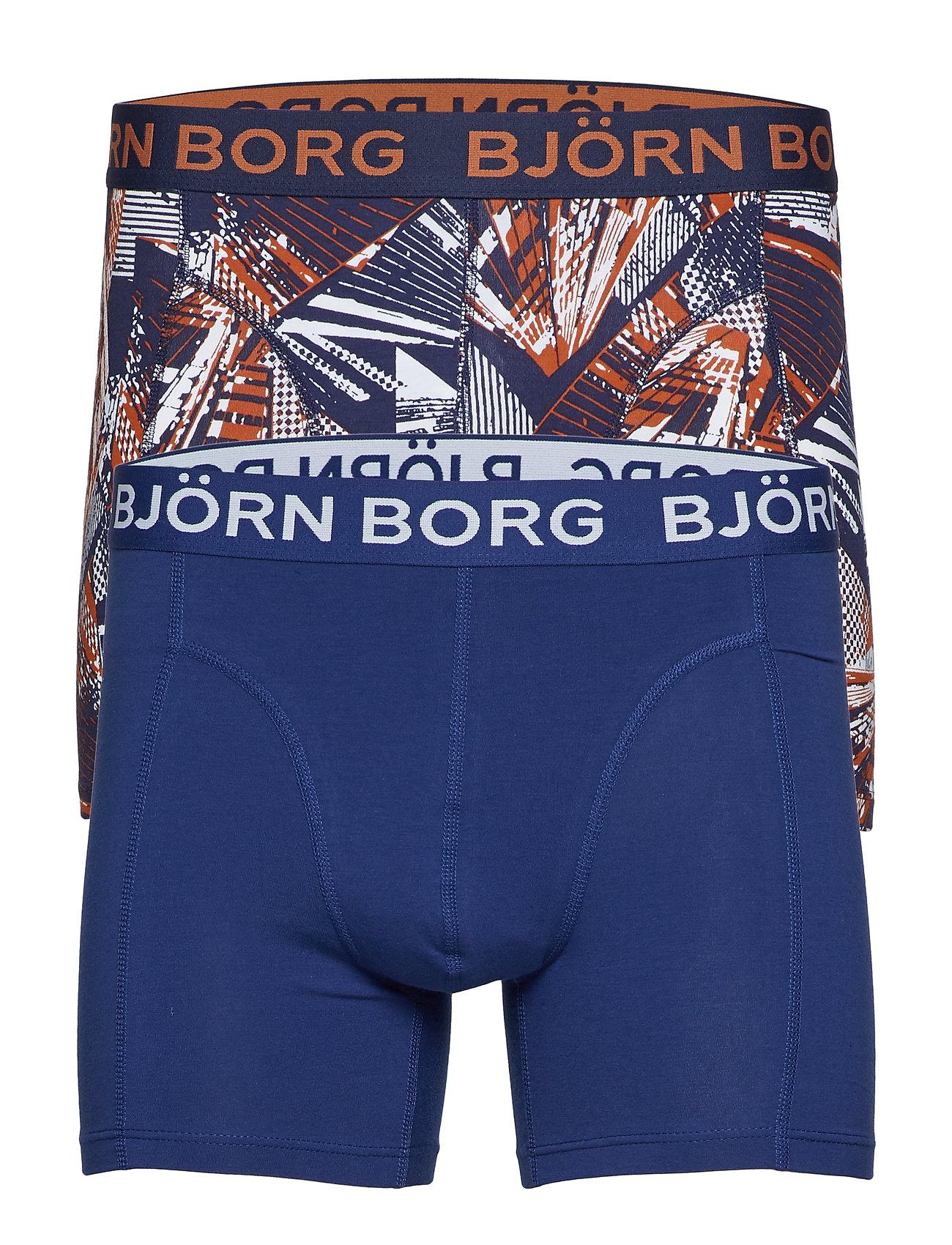 Björn Borg SHORTS BB SKYSCRAPER 2p - PEACOAT
