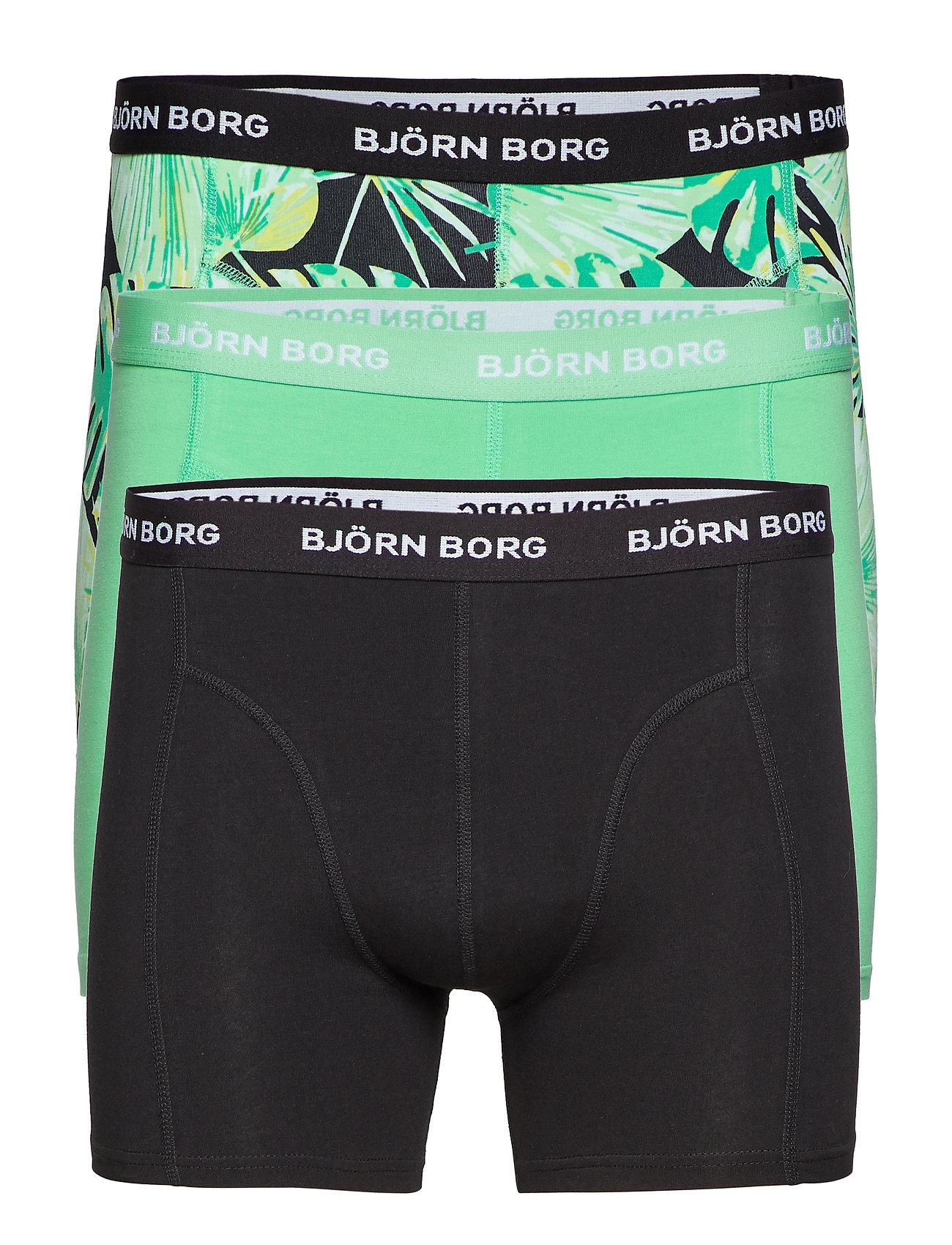 d1d9100e Shorts Bb La Garden 3p (Black Beauty) (£31.85) - Björn Borg ...
