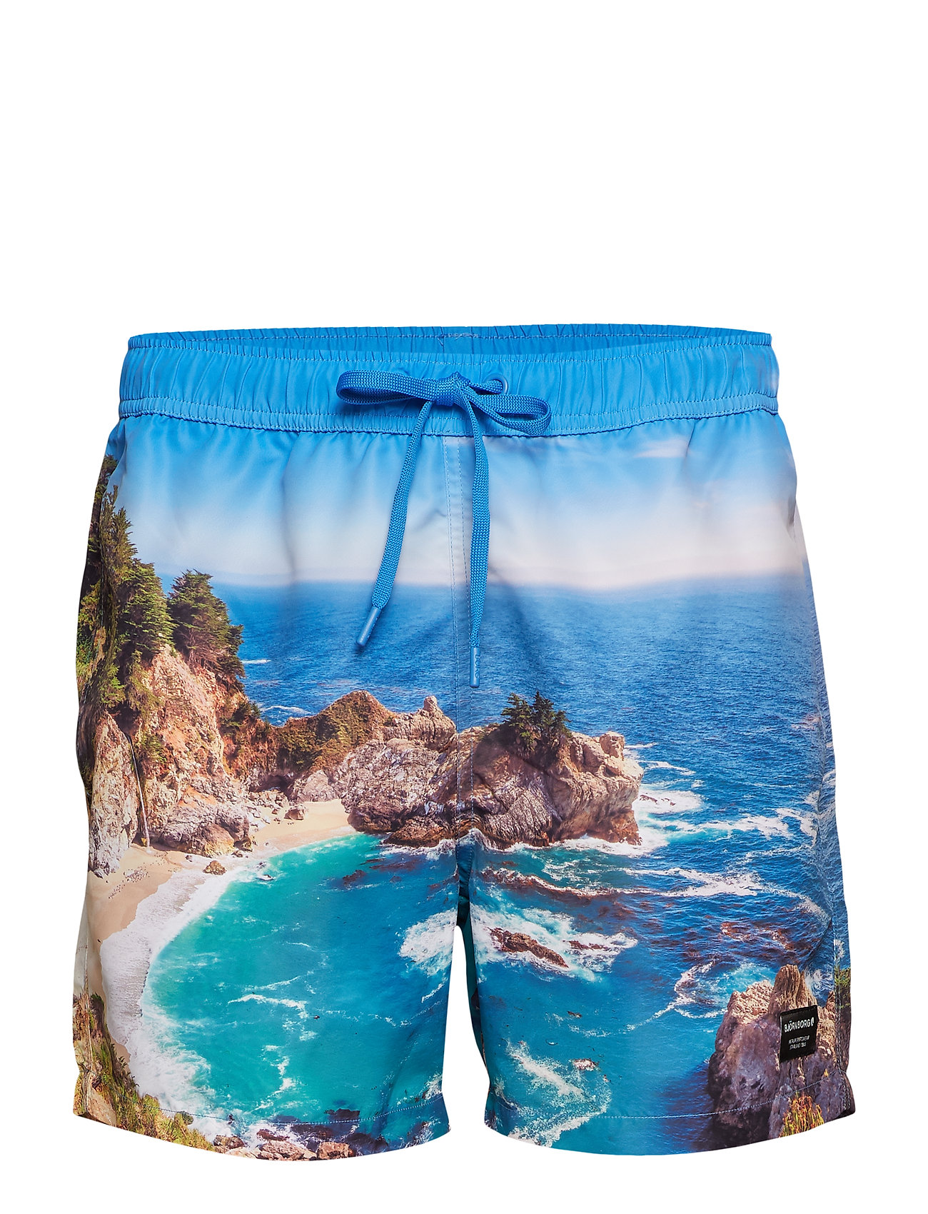 Swim Shorts Sid 1p Badeshorts Blå BJÖRN BORG