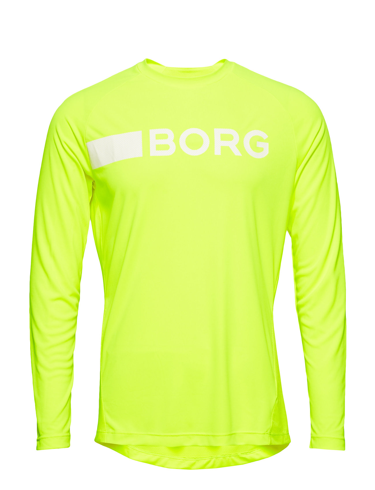 Björn Borg LS TEE ANTE 1p - SAFETY YELLOW