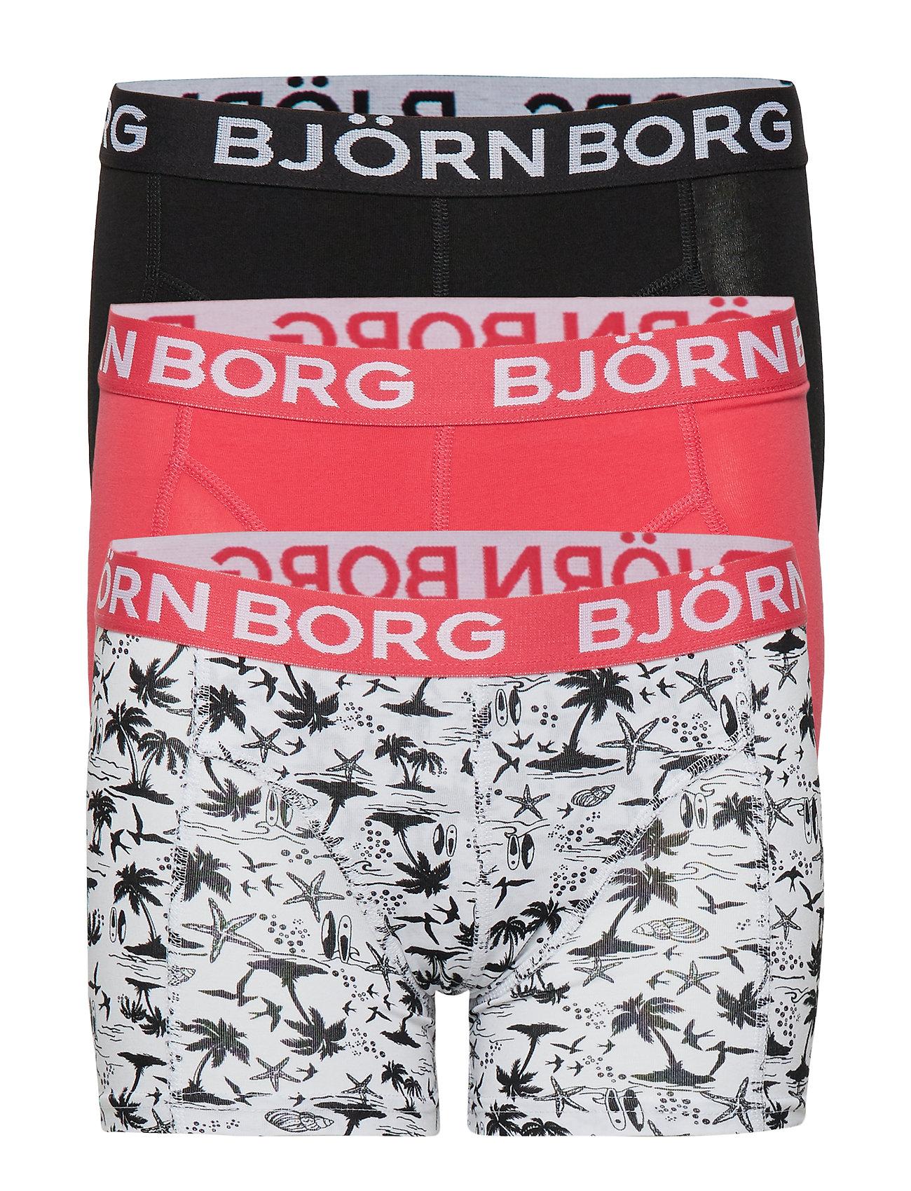 Björn Borg SHORTS BB MAUI MINI 3p - BRILLIANT WHITE