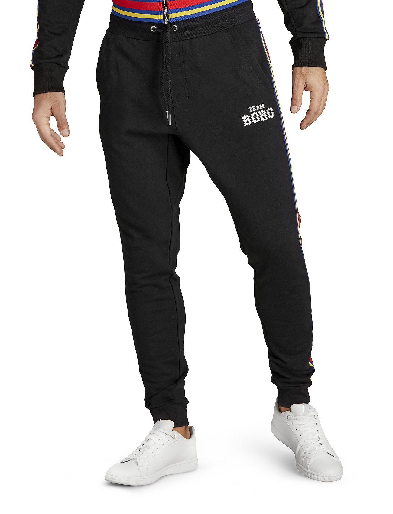 Björn Borg - TEAM BORG TRACK PANTS - sweatpants - black beauty