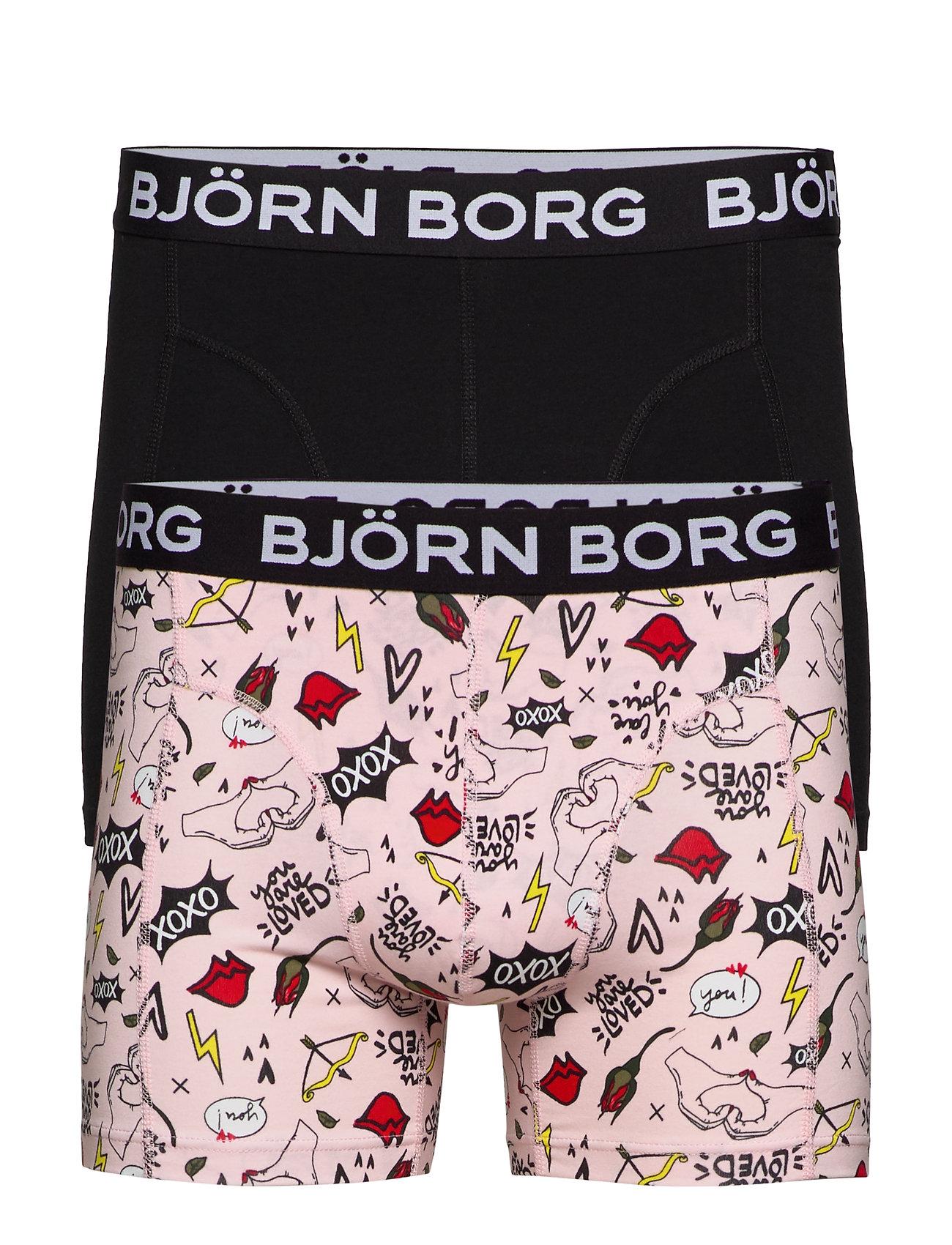 Björn Borg BB XOXO SAMMY SHORTS - BLUSHING BRIDE