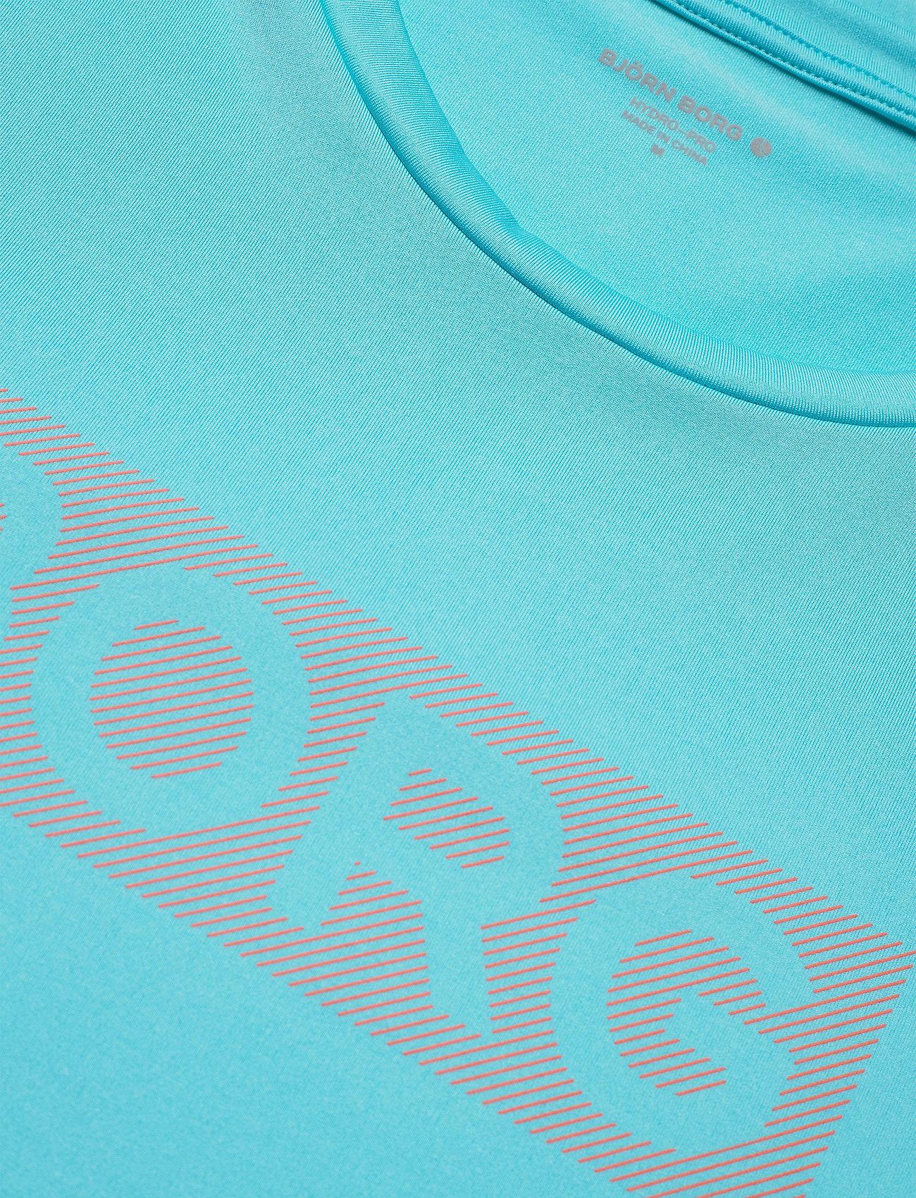 Björn Borg PERF TEE INGEMAR INGEMAR - T-skjorter BLUE FISH - Menn Klær