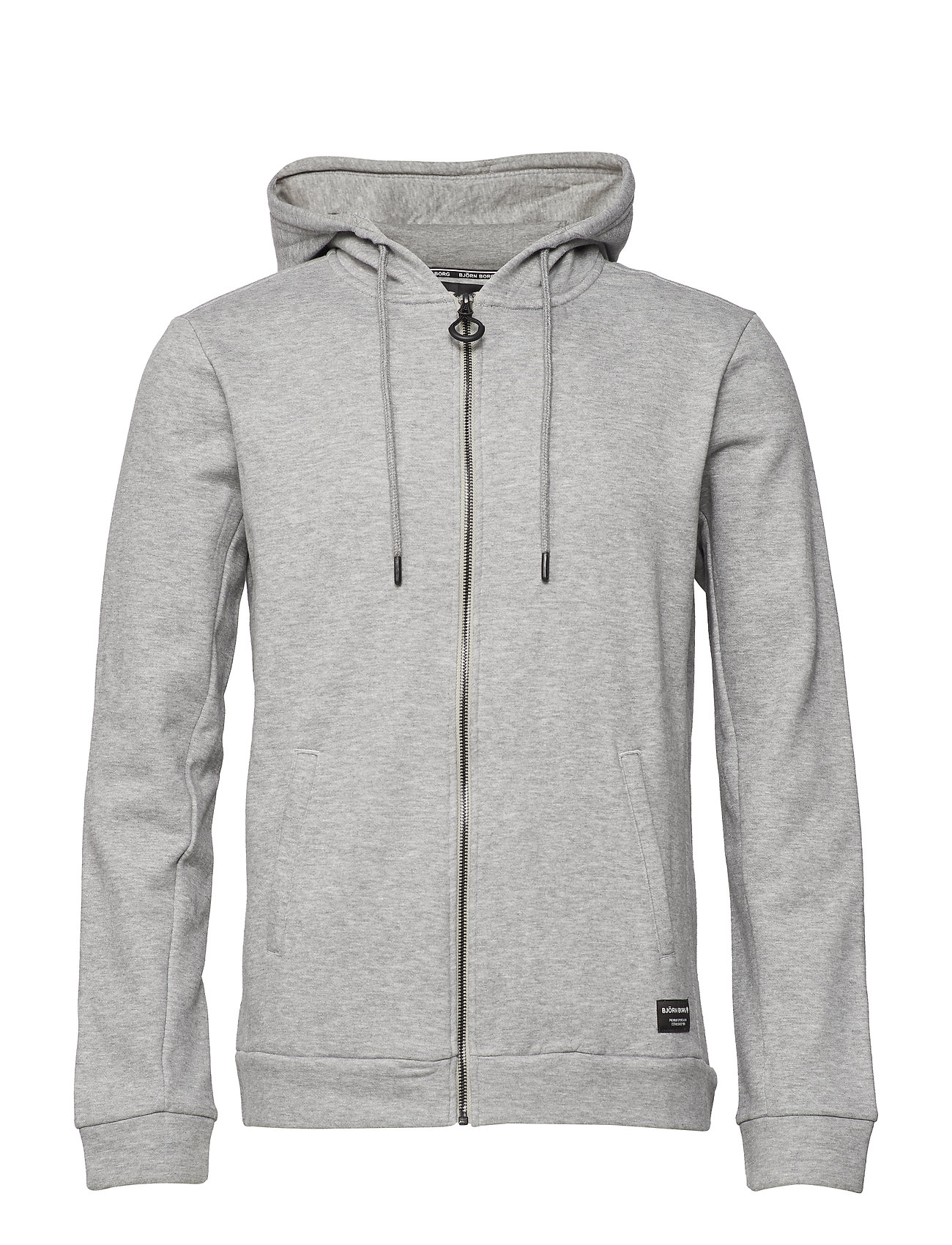 Björn Borg HOODIE BBCENTRE BBCENTRE - H108BY LIGHT GREY MELANGE