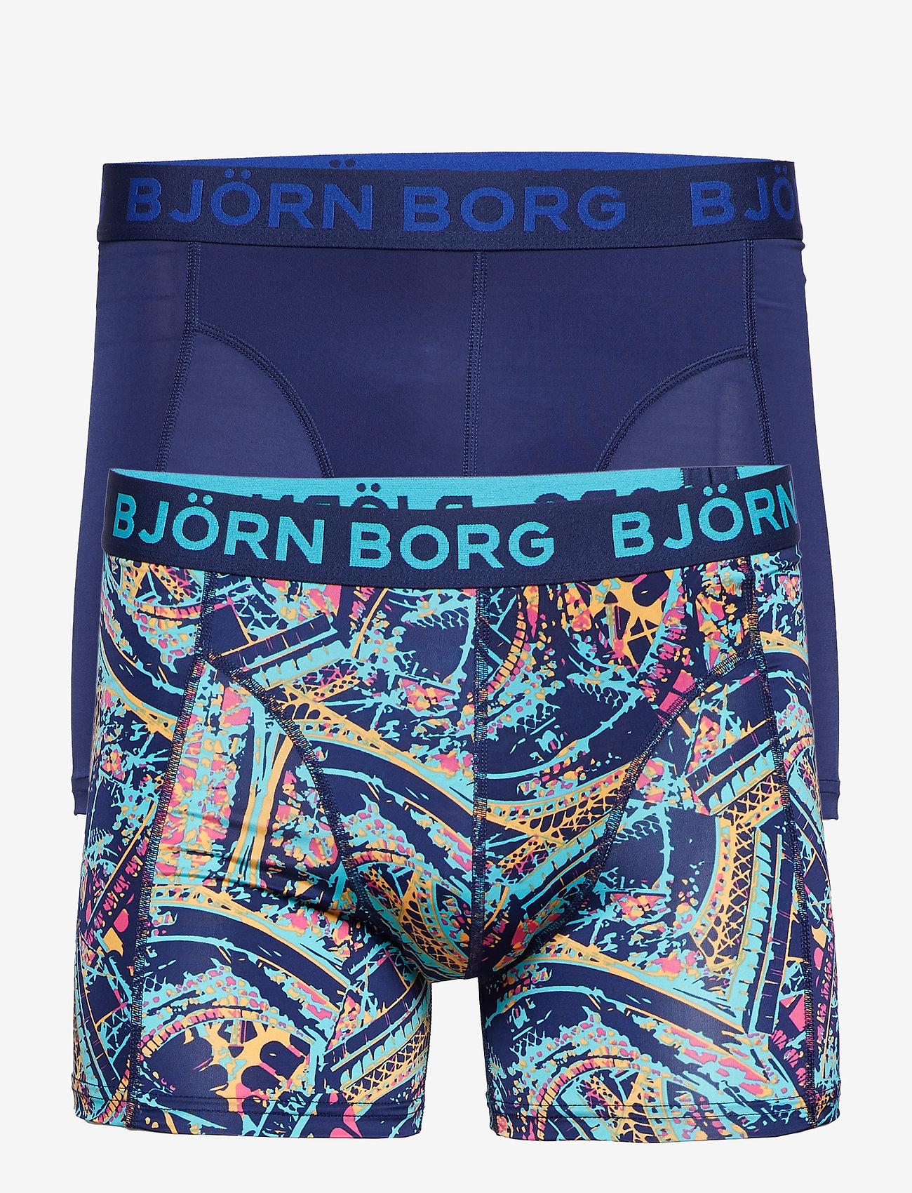 Björn Borg - SHORTS BB EIFFEL 2p - boxers - peacoat - 0