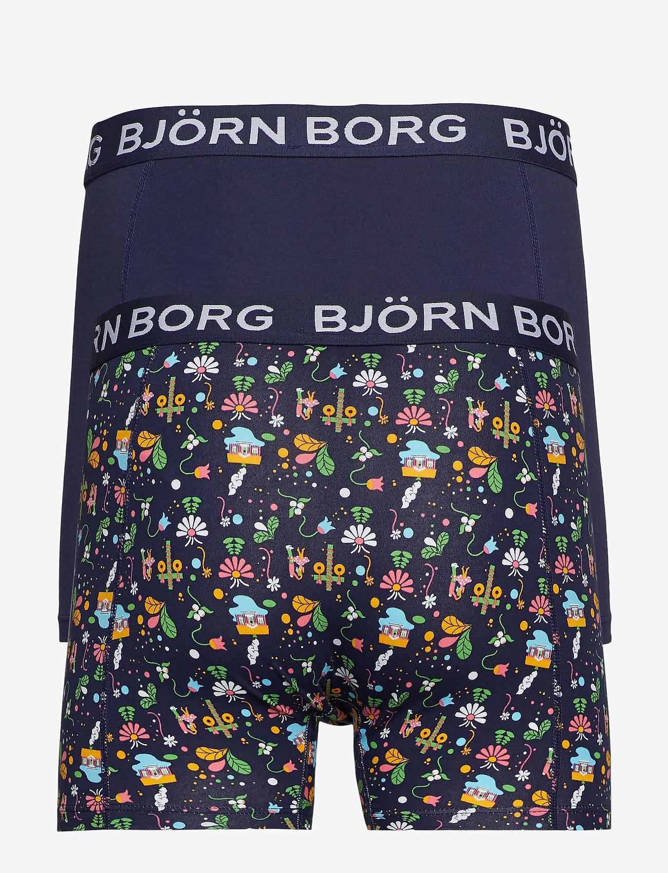 Björn Borg - SHORTS BB MIDSUMMER 2p - boxers - peacoat - 1