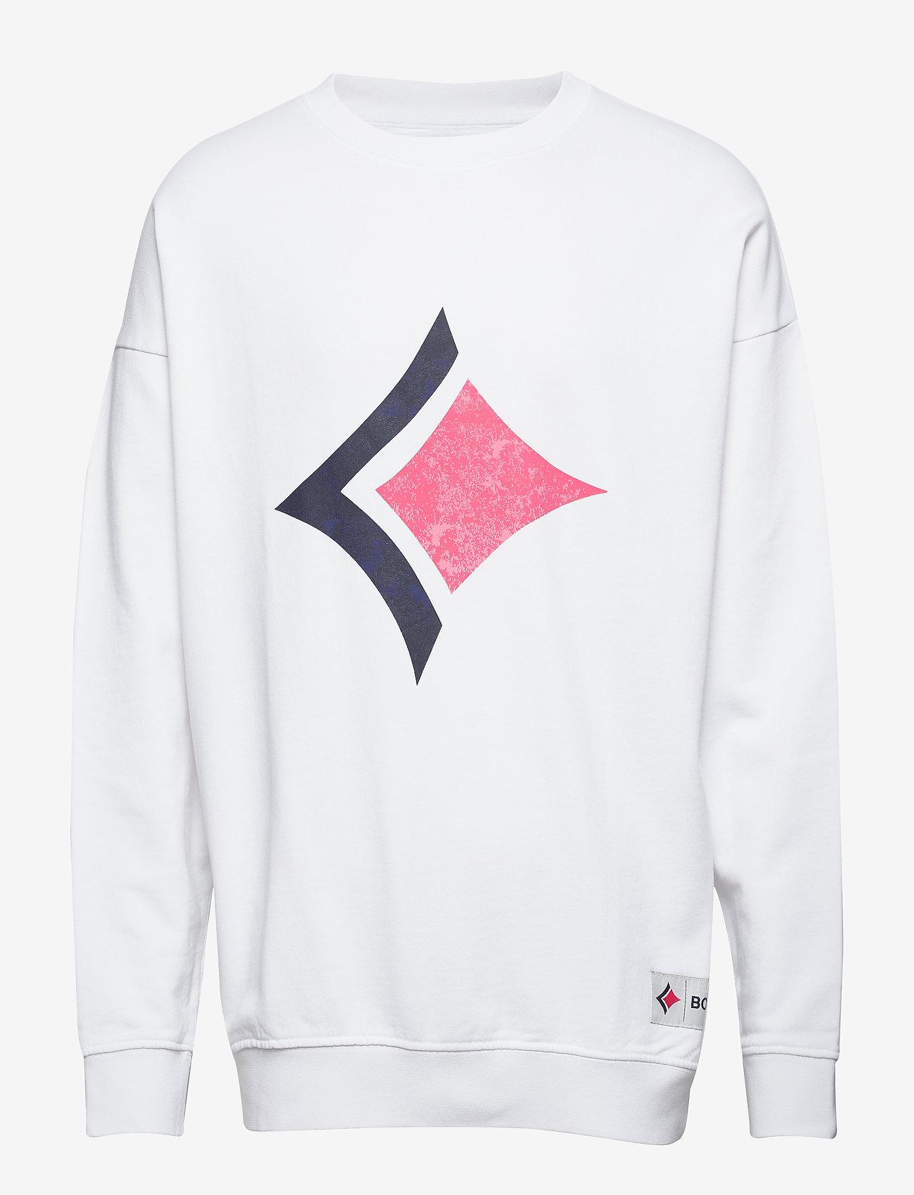 Björn Borg - CREW ARCHIVE LOOSE ARCHIVE - sweatshirts - brilliant white - 0