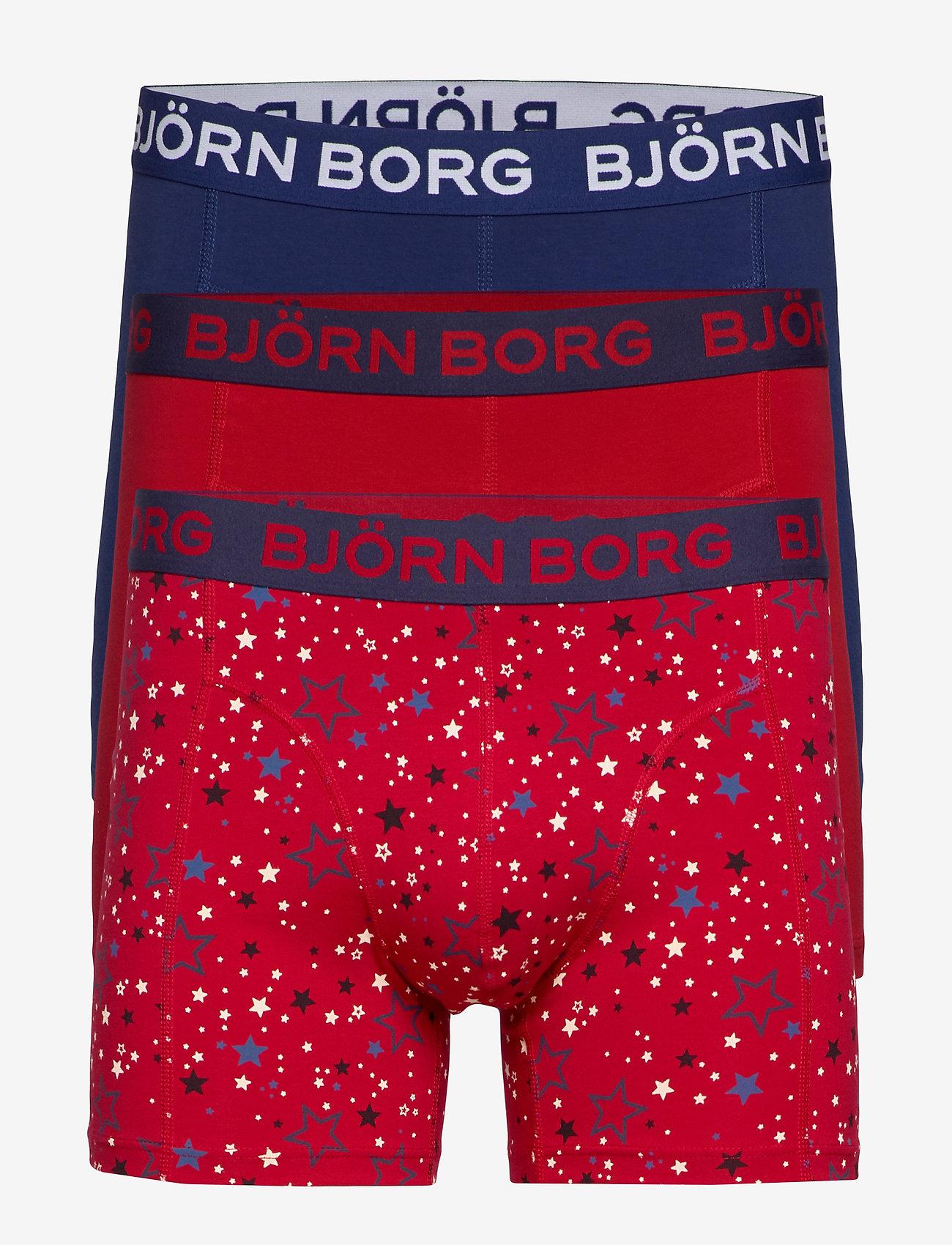 Björn Borg - SHORTS SAMMY BB GRAPHIC STAR - boxers - jester red - 0