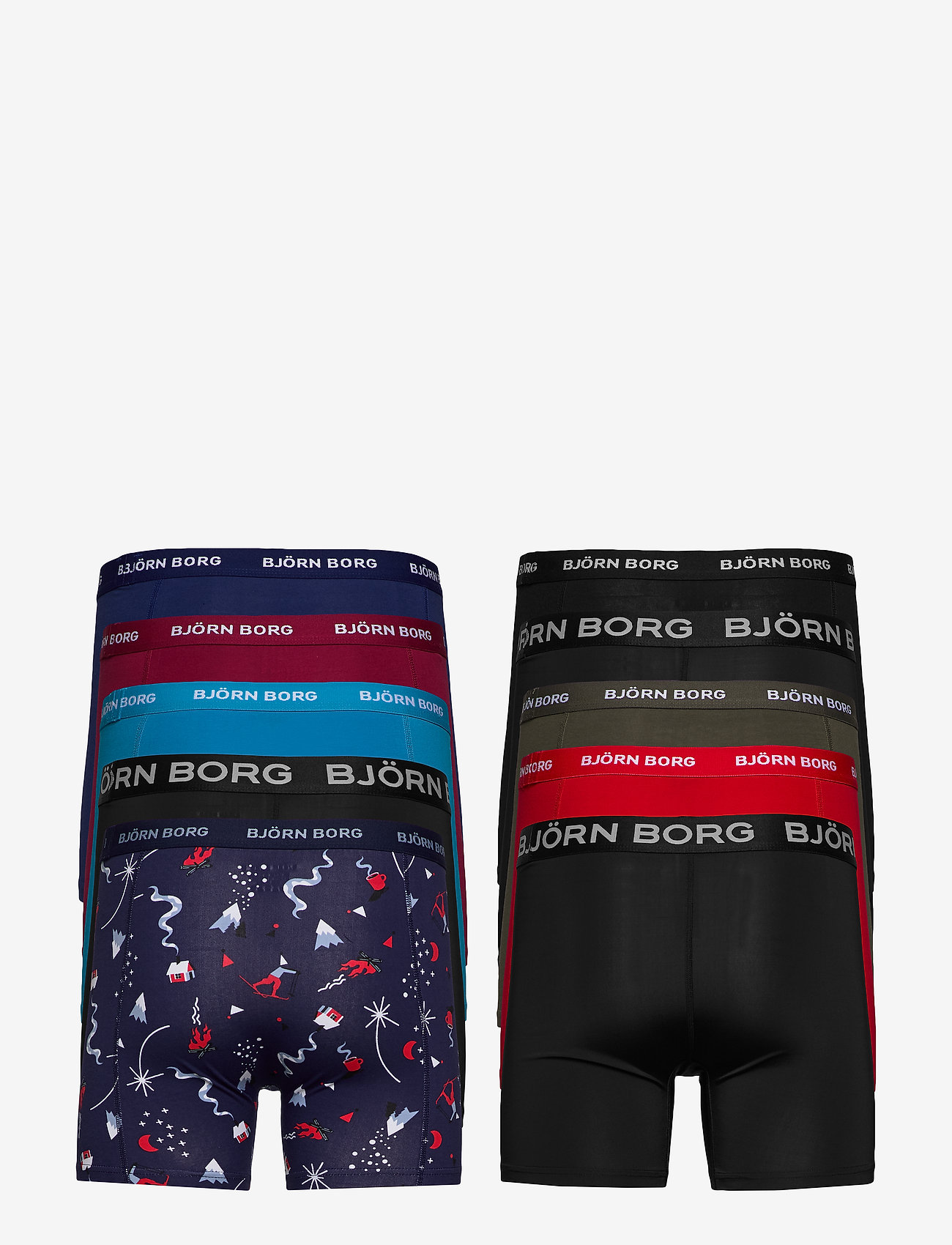 Björn Borg Shorts Sammy Bb Winter Xmas-box - Boxershorts Peacoat