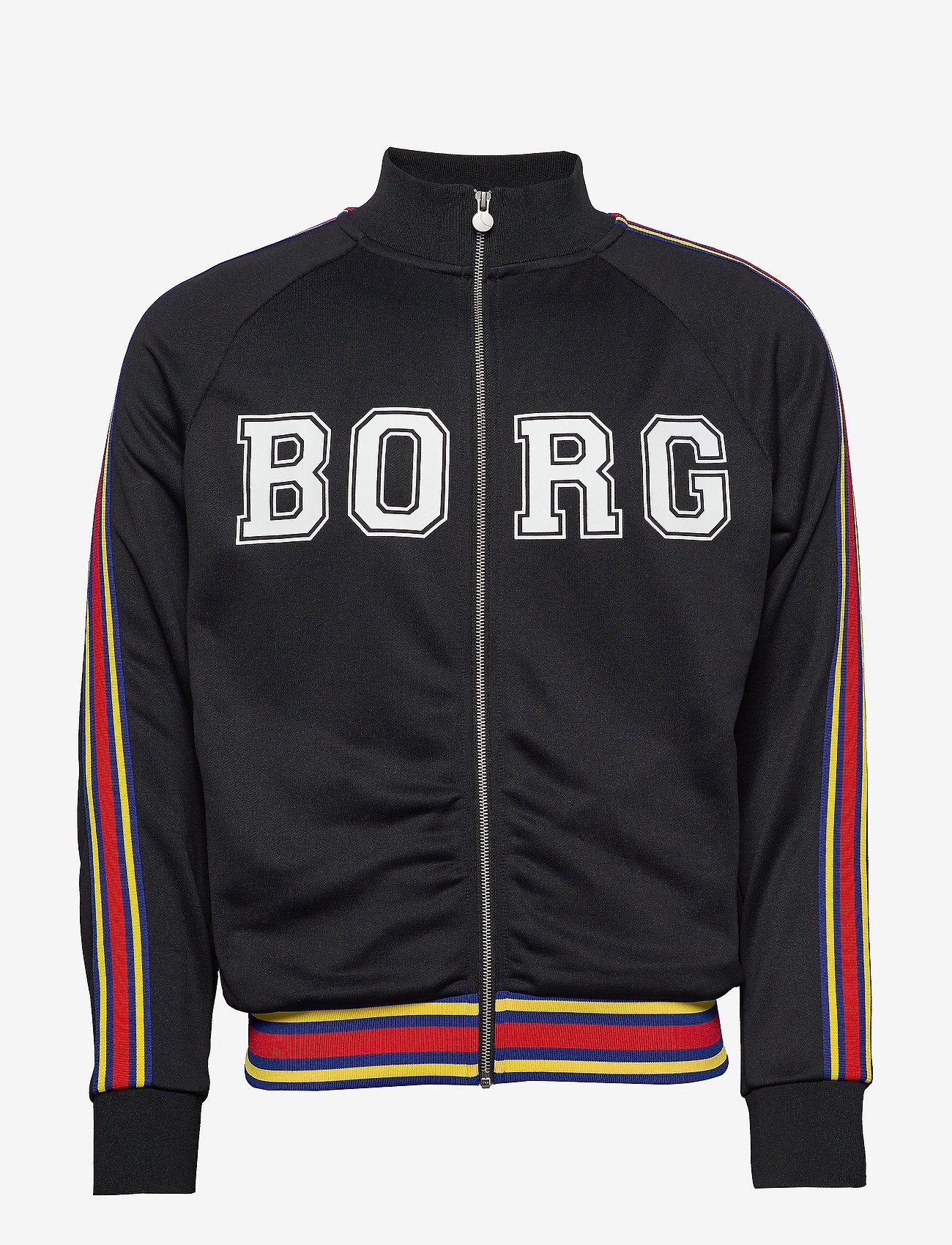 Björn Borg - TEAM BORG TRACK JACKET - track jackets - black beauty