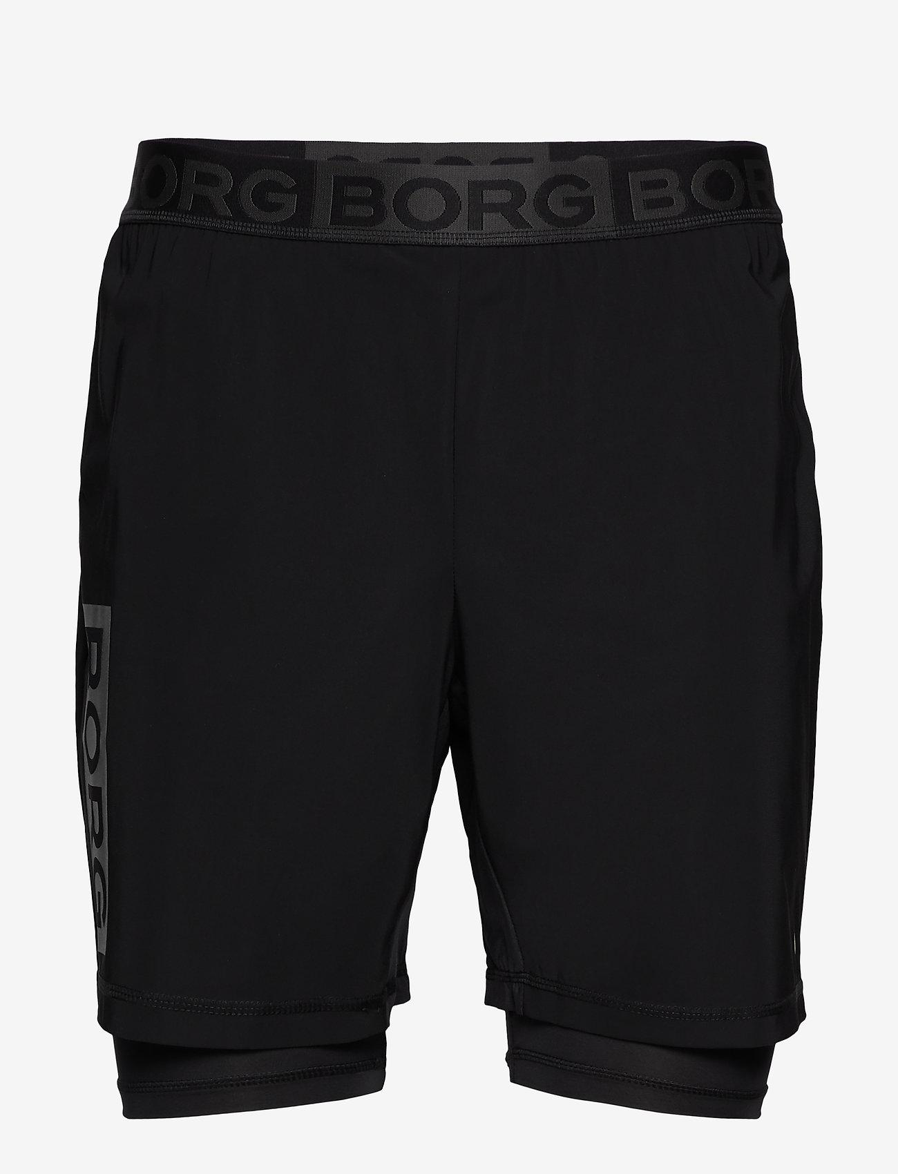 Björn Borg - AMARI SHORTS - training shorts - black beauty