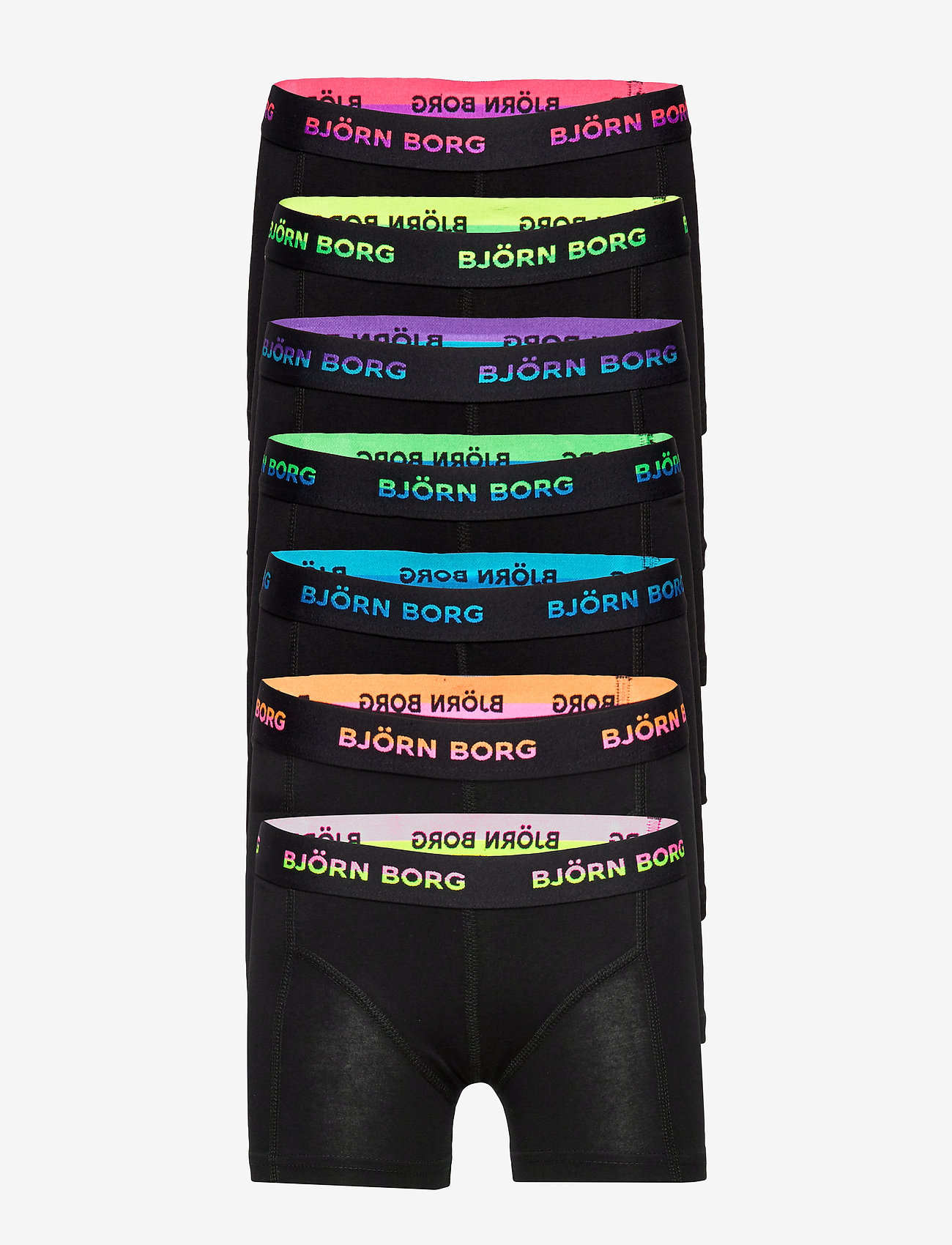 Björn Borg - SHORTS SAMMY SEASONAL SOLID NEON - bottoms - electric purple