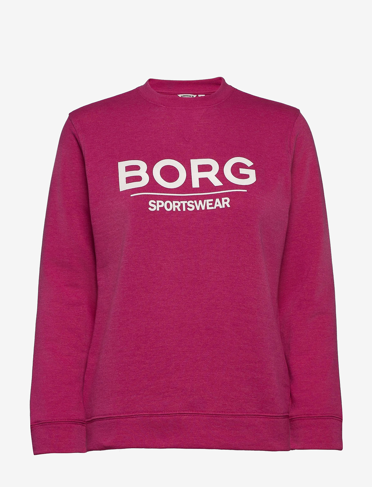 Björn Borg - CREW FAYE FAYE - sweatshirts - fuchsia melange - 0