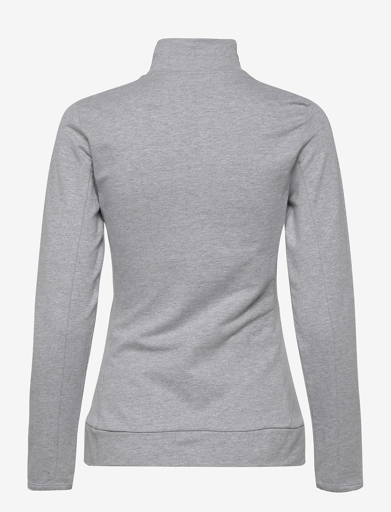 Björn Borg - JACKET FLAVIA FLAVIA - sweatshirts - h108by light grey melange - 1