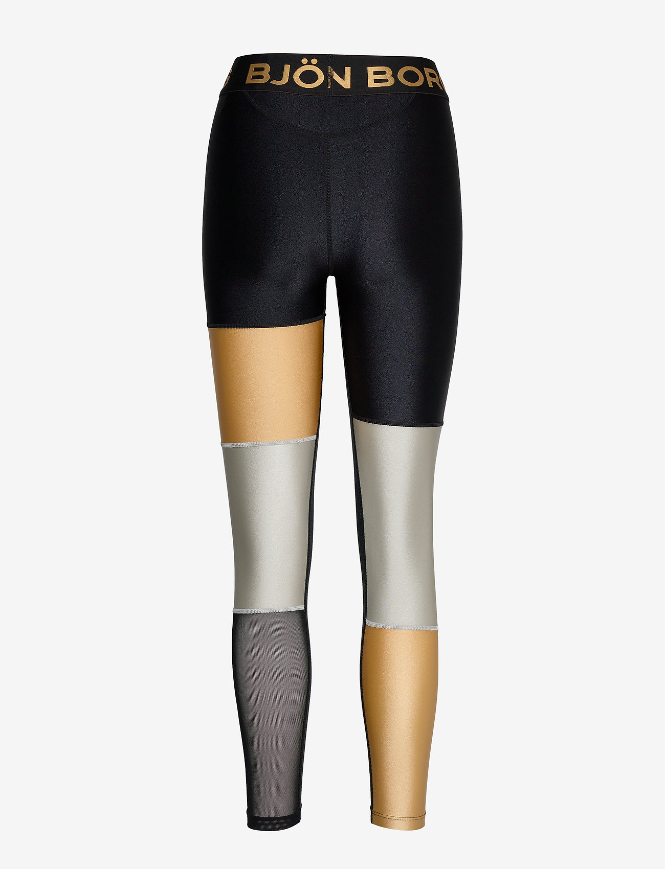 Björn Borg BLOCKED TIGHTS CENDALL CENDALL - Leginsy BLACK GOLD - Kobiety Odzież.