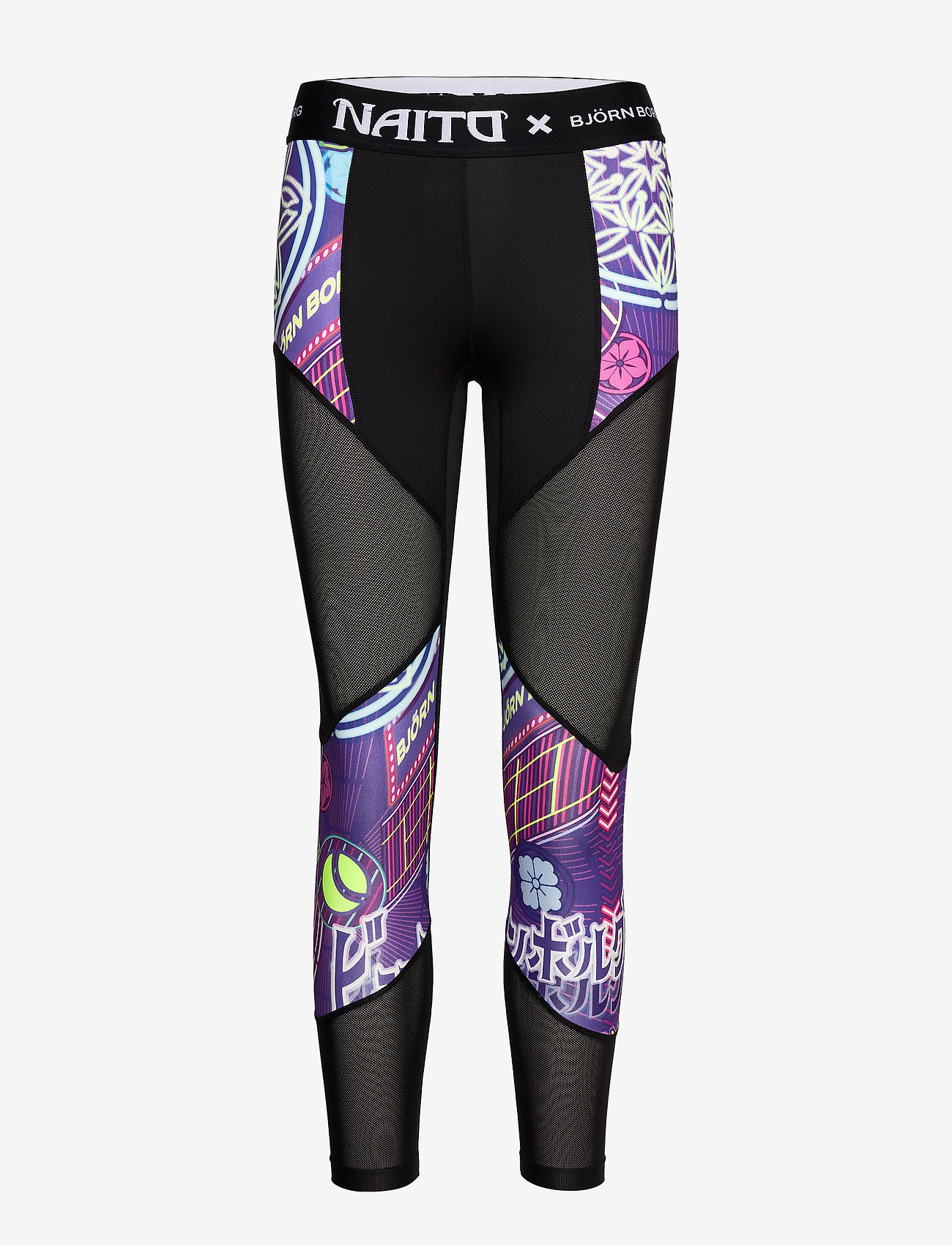 Björn Borg - 7/8 TIGHTS CHRISTINE CHRISTINE - running & training tights - naito purple - 0
