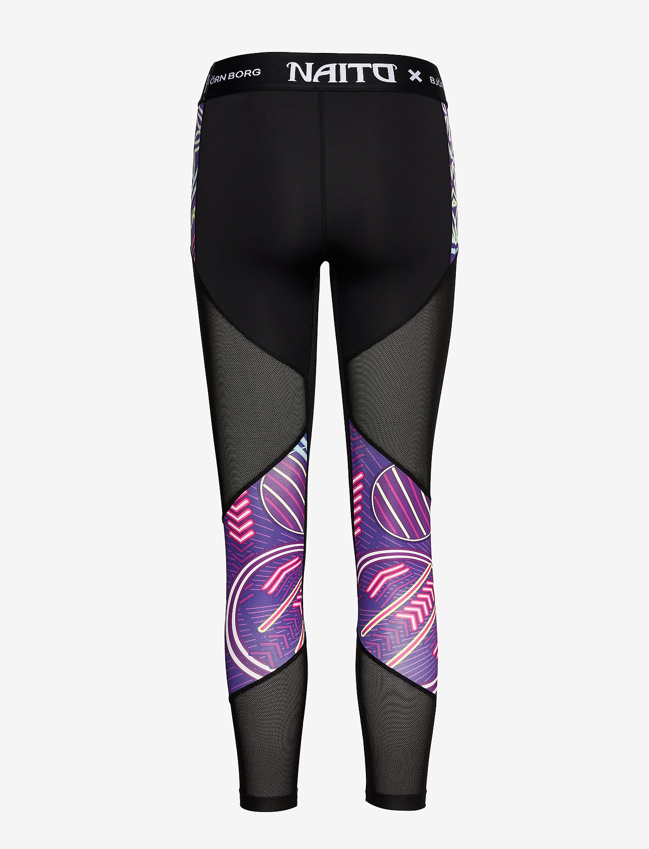 Björn Borg - 7/8 TIGHTS CHRISTINE CHRISTINE - running & training tights - naito purple - 1