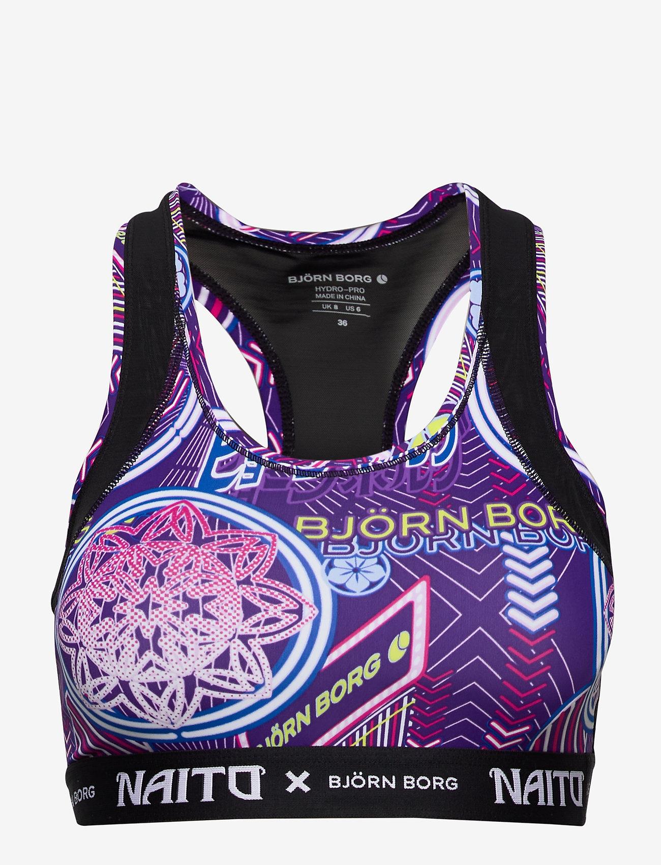 Björn Borg - MEDIUM TOP SKY BB NAITO CITY PURPLE - sort bras:high - naito purple - 1